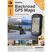 Backroad GPS Map Ontario SD