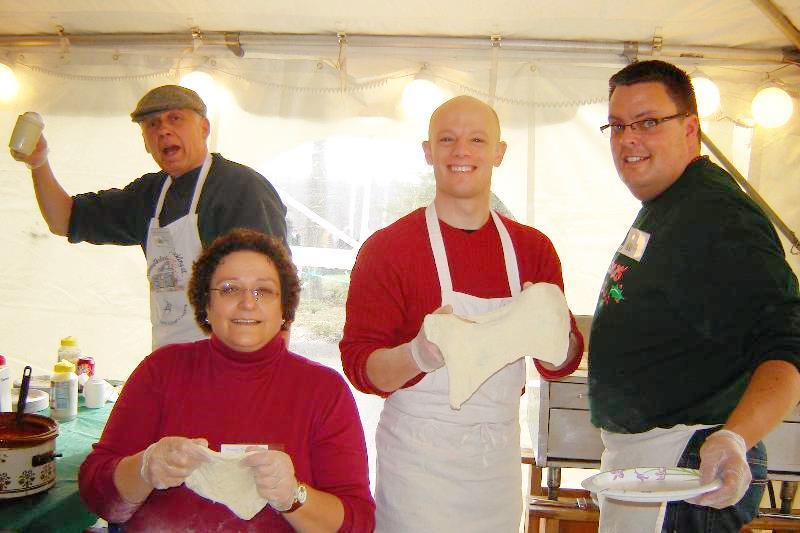 Christmas Fair 2010 - Fried Dough