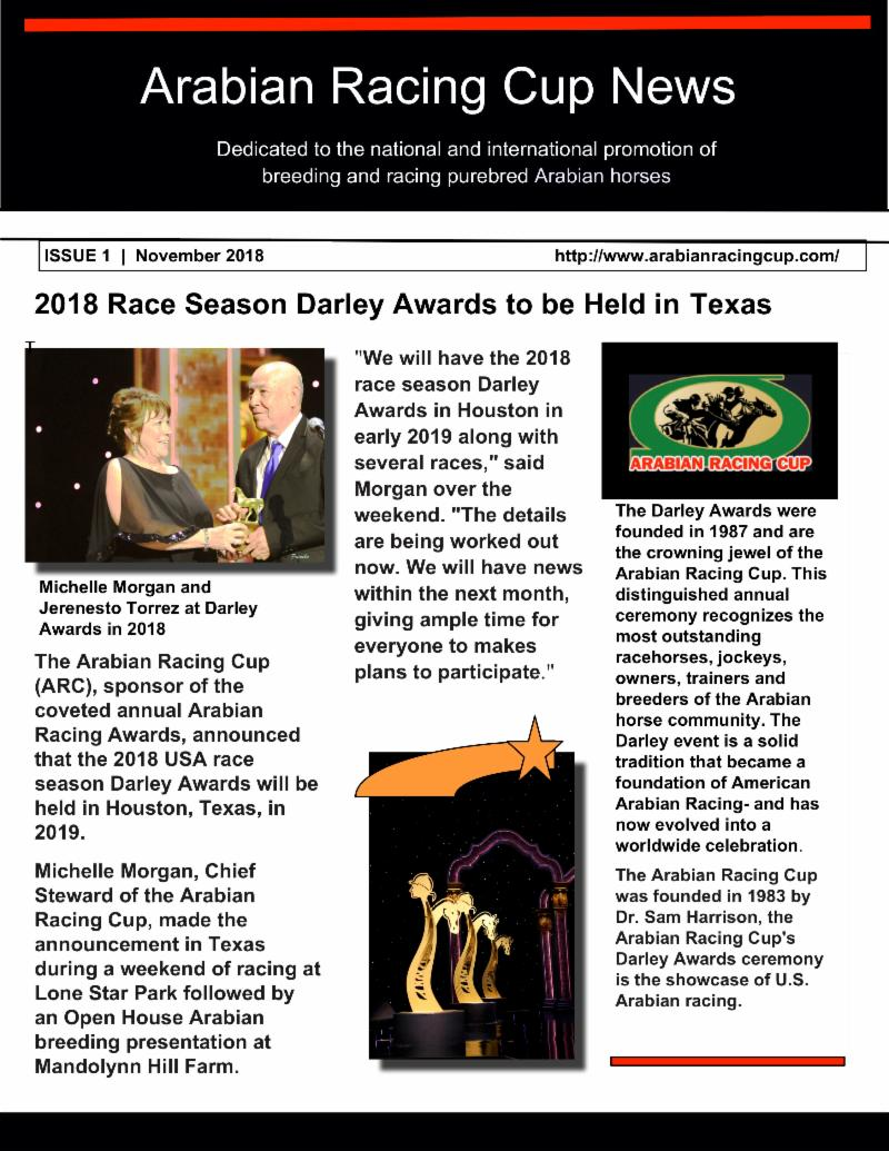 2018 race season darley awards in texas
