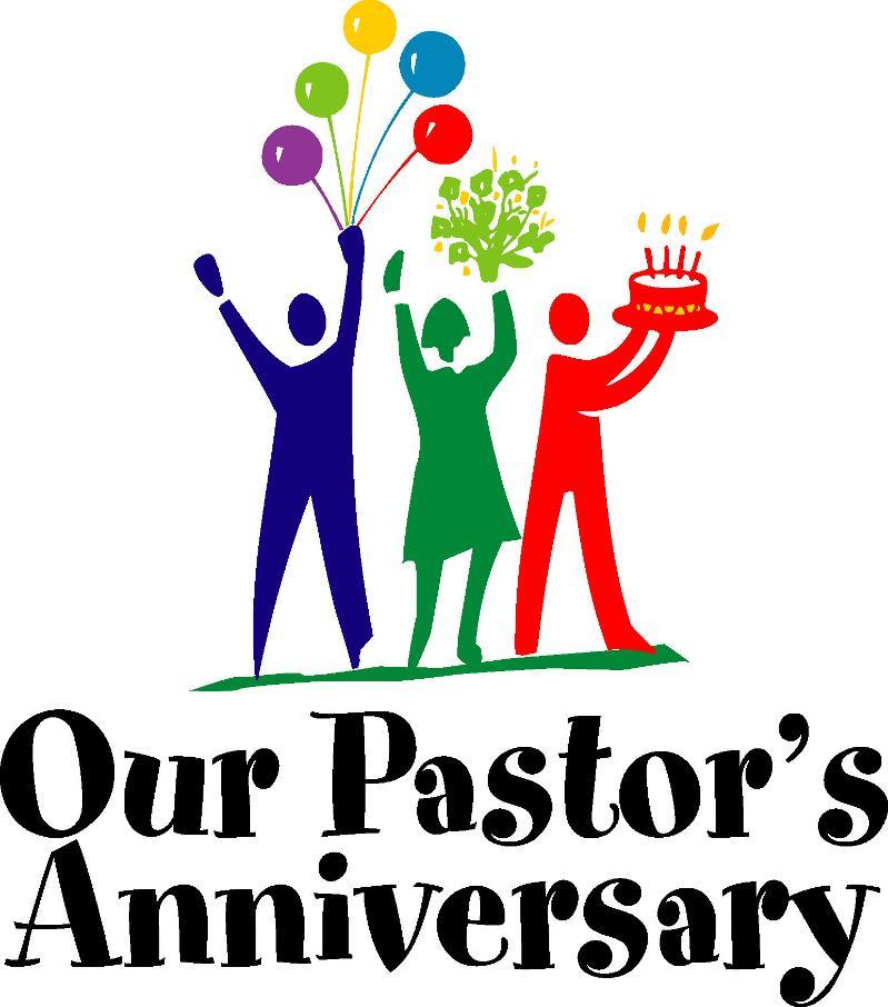 pastor's anniversary