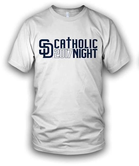 catholic night tshirt