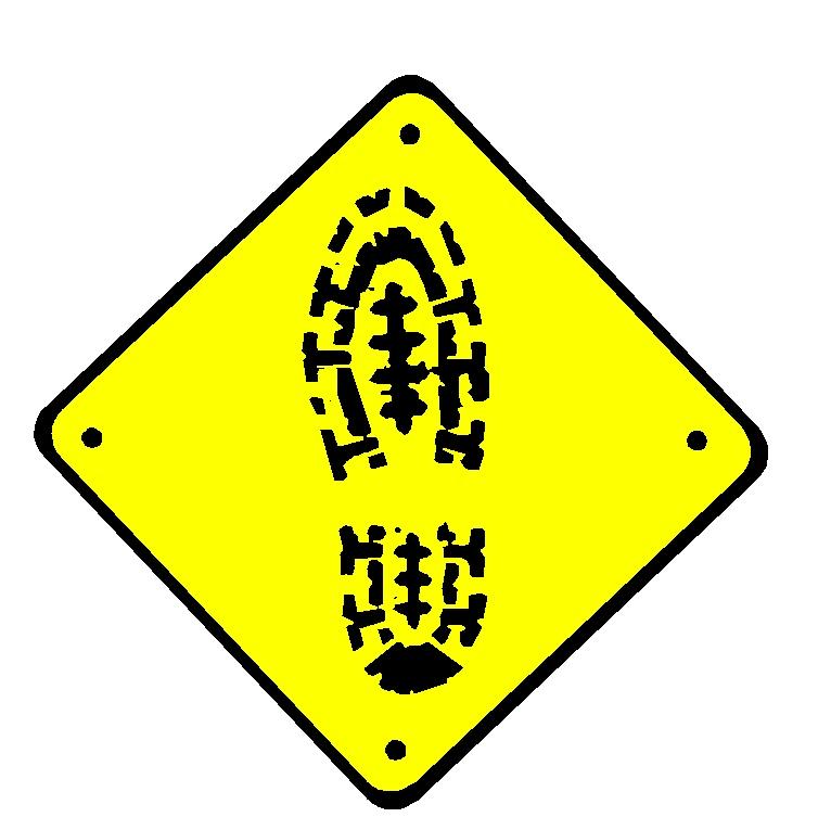 hiking footprint