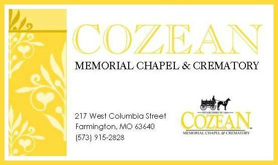 Cozean Memorial Chapel & Crematory