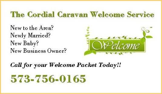 Cordial Caravan Welcome Service