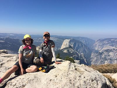 Laila in Yosemite