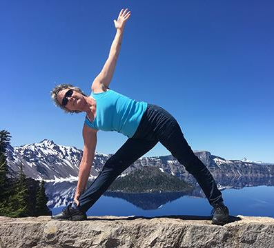 triangle at crater lake
