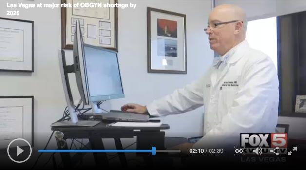 Dr Michael Gardner Las Vegas at major risk of OBGYN shortage by 2020 FOX5 News