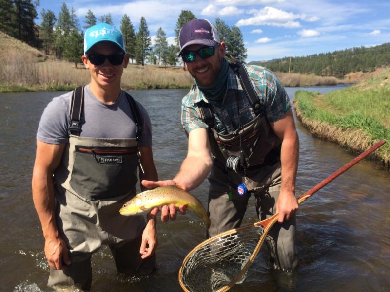 Fishing reports dream stream trips mile high flats for Dream stream fishing report