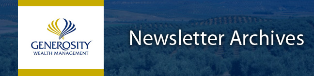 Newsletter Archive Banner