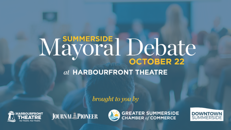 Summerside Mayoral Candidates Debate @ Harbourfront Theatre | Summerside | Prince Edward Island | Canada