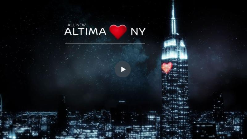 World Debut of Nissan's all new ALTIMA!