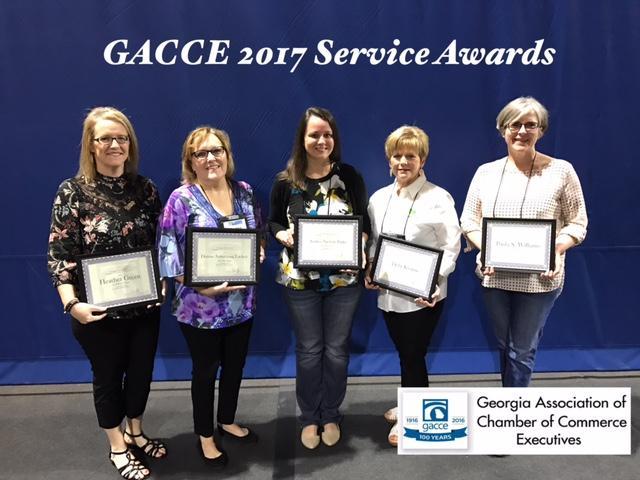 GACCE Service Awards