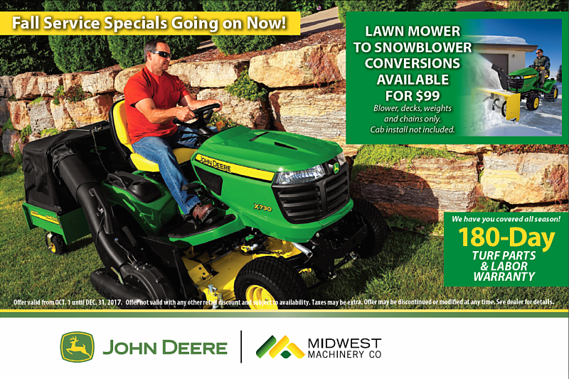 Midwest Machinery Co  October Newsletter