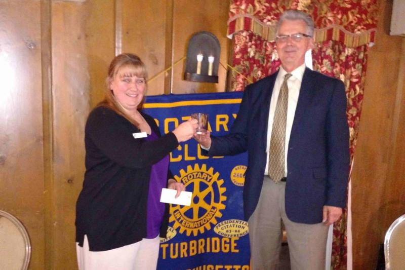Rotary Supports the Y