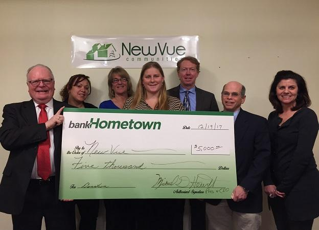 Bank Hometown Donation
