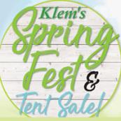 Spring FEST Tent sale