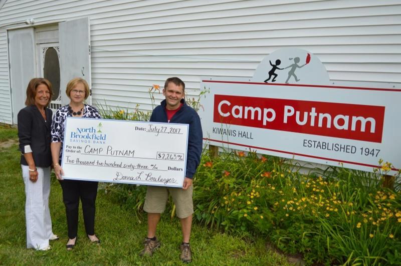 NBSB_s Camp Putnam Donation