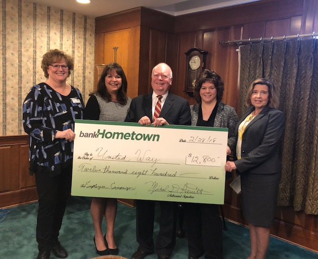 Hometown Bank Donation