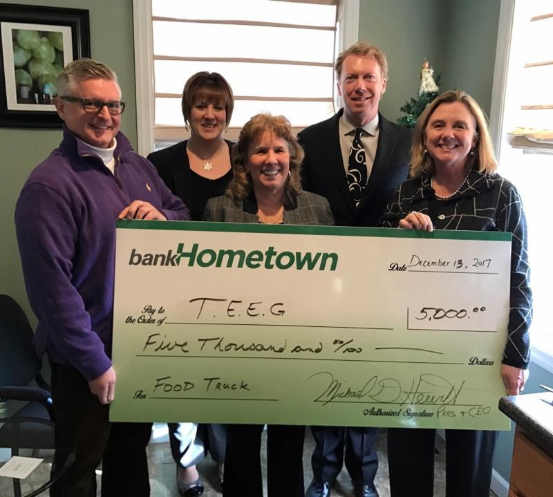BankHometown Donates to TEEG