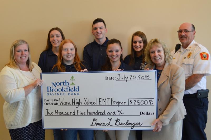 NBSB donates for EMT training