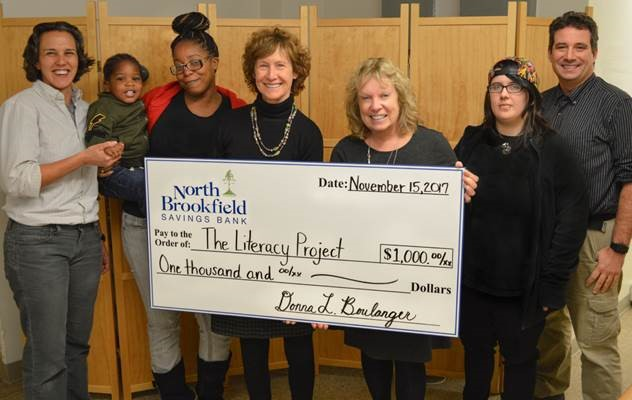 NBSB Donates to Literacy Project