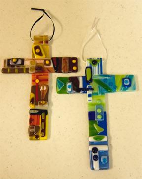 Fused Hanging Cross
