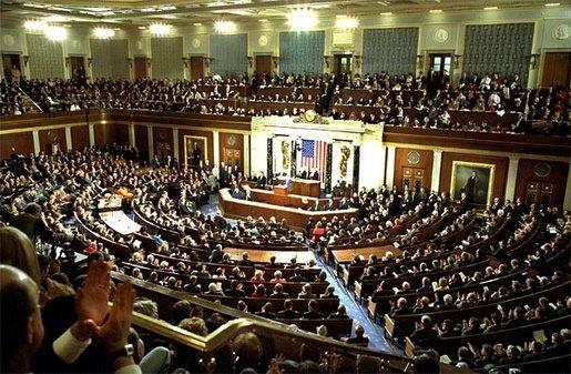 congress on the floor