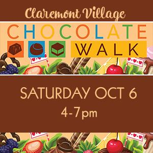 2nd Annual Claremont Chocolate Walk