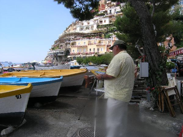 Painting Fishing Boats