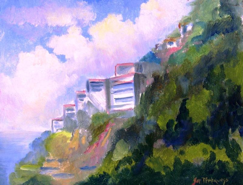 Amalfi East view