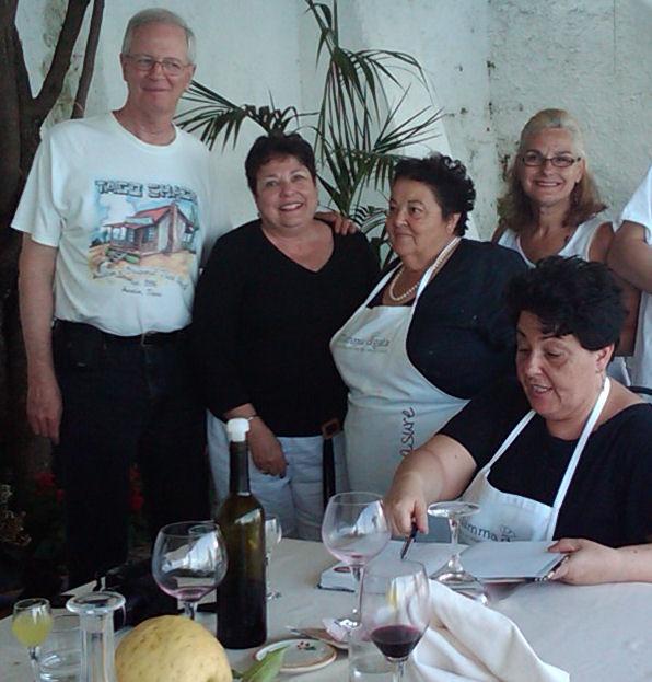 Amalfi 2011 Cooking in Ravello