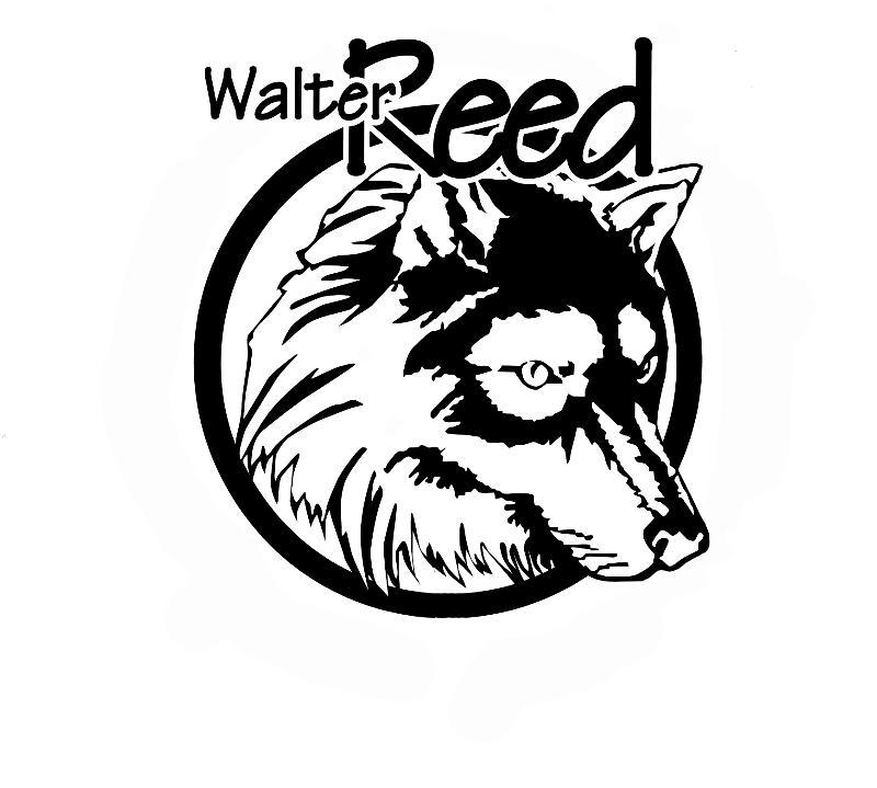 Logo Wolf Black on White