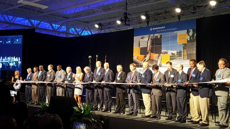 Embraer Ribbon Cutting