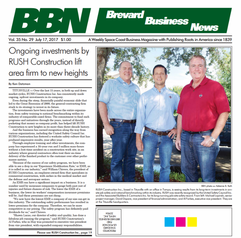 Brevard Business News Vol. 35 No. 29