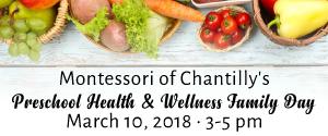 DullesMoms.com Newsletter Sponsor: Montessori of Chantilly