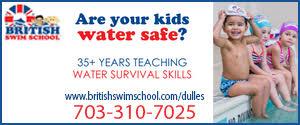 DullesMoms.com Newsletter Sponsor: British Swim School