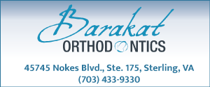 Newsletter Sponsor: Barakat Orthodontics