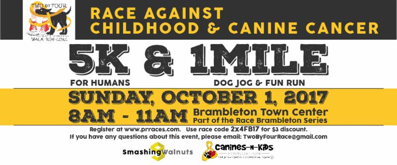 Newsletter Sponsor: Race Against Childhood & Canine Cancer