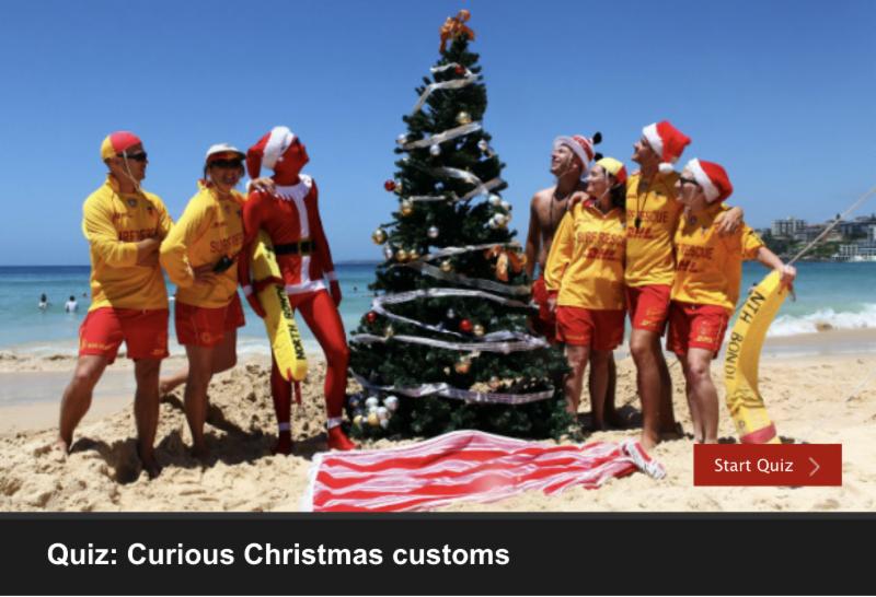 Curious Christmas customs screen shot