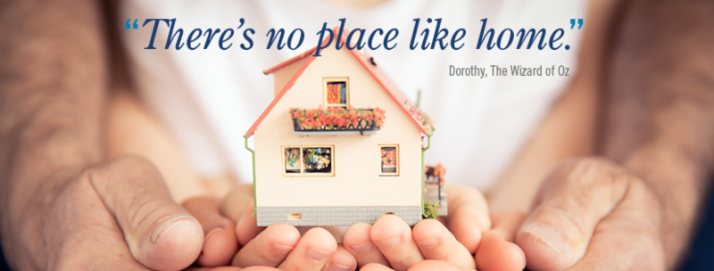 """August 7th Aging in Place seminar: """"There's no place like home."""""""