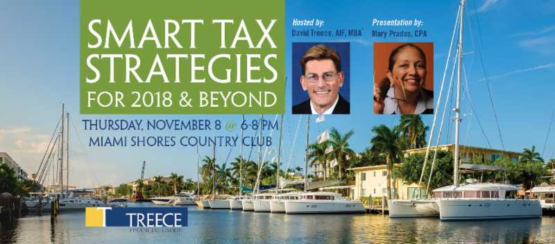 November 8th Miami Smart Tax Strategies for 2018 & Beyond