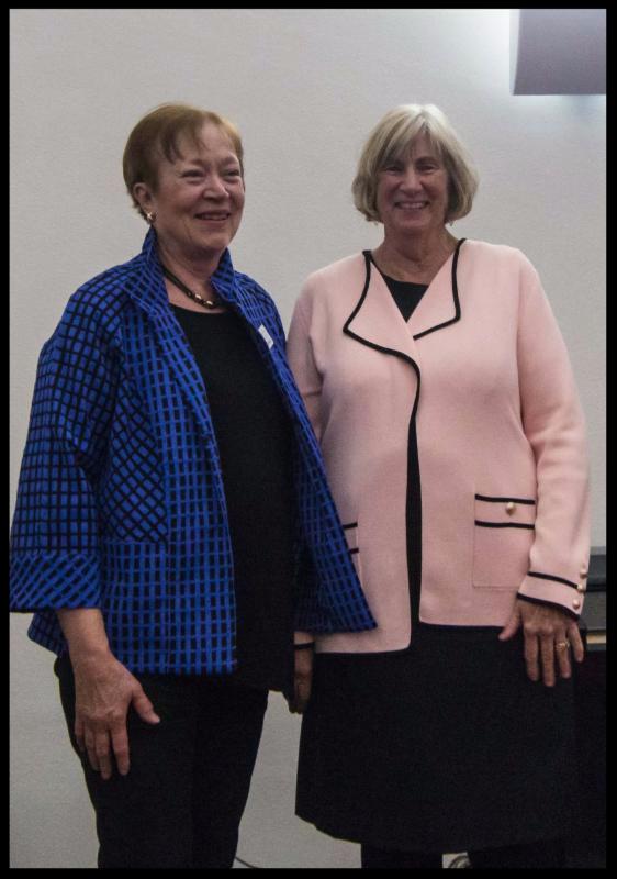 Carole Swinehart and Judy Karandjeff