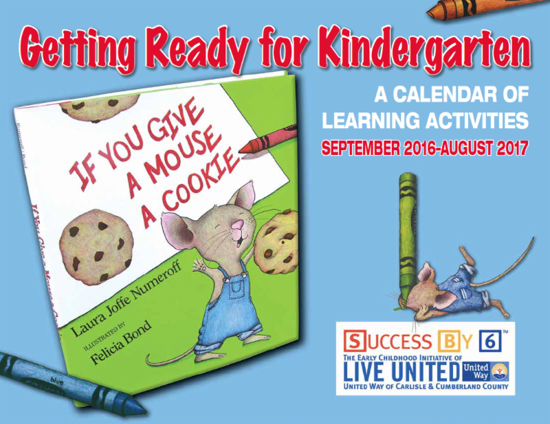 Kindergarten Readiness Calendar : Community partners enews december