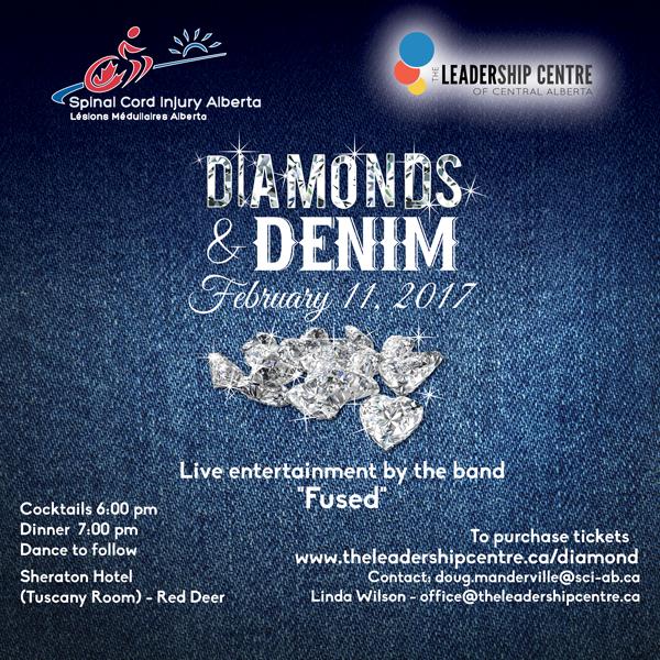 Diamonds _ Denim Poster