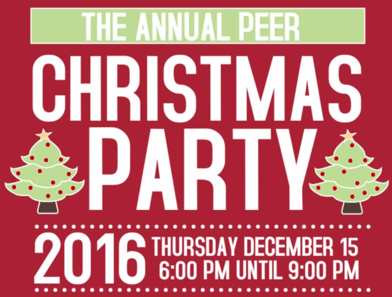 Edmonton Peer Christmas Party