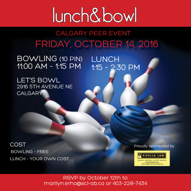 Lunch and Bowl Peer Event - Calgary on October 14_ 2016