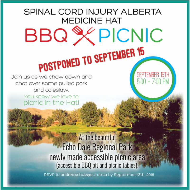 Postponed BBQ_Picnic in Medicine Hat - now September 15_ 2016
