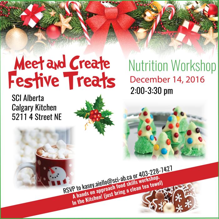 Festive Treats Nutrition Workshop_ December 14_ 2016 in Calgary