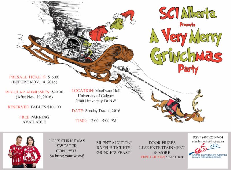 Calgary Christmas Party Invitation