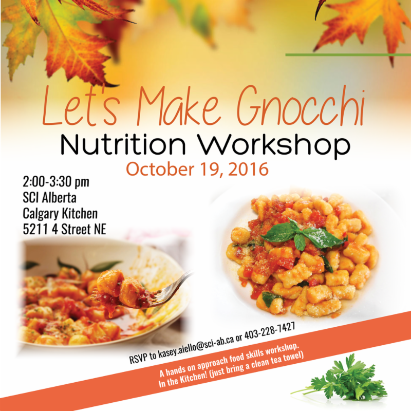 Gnocchi Nutrition Workshop